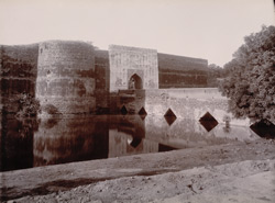 Asht Dhati (Eight metals) Gate. North entrance of Bharatpur Citadel